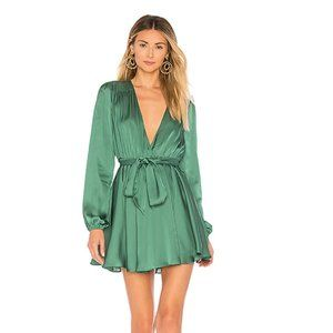 Lovers + Friends Ivy Dress in Green
